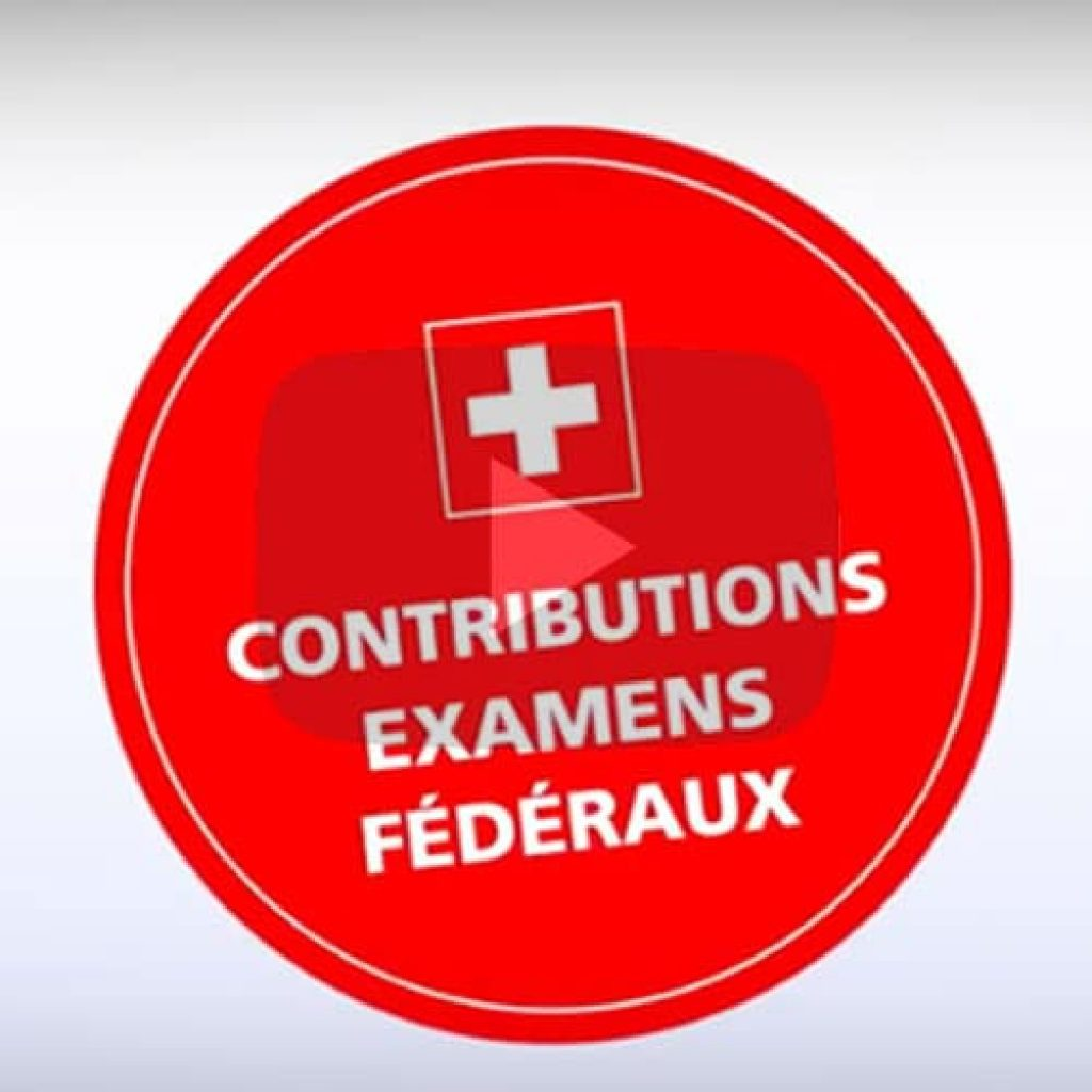 Youtube contribution examens suisses